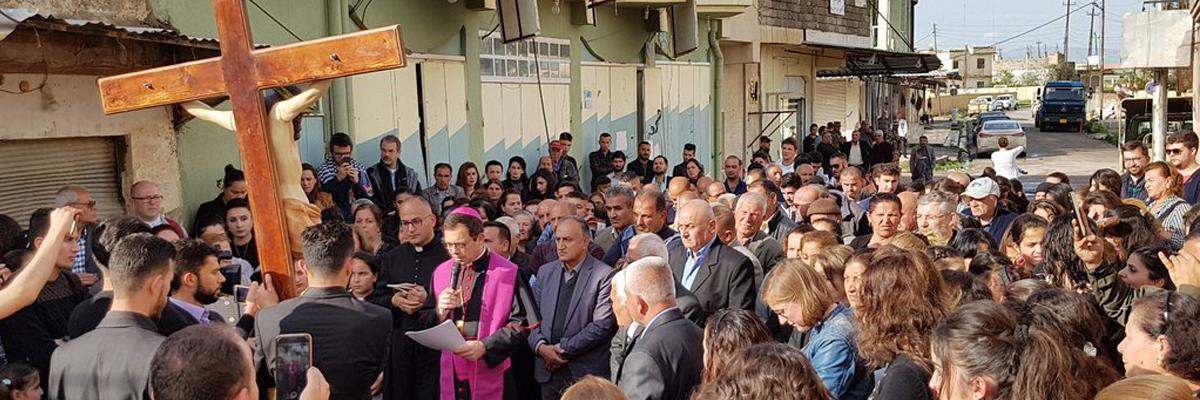 Le Triduum Pascal aux côtés des chrétiens d'Irak