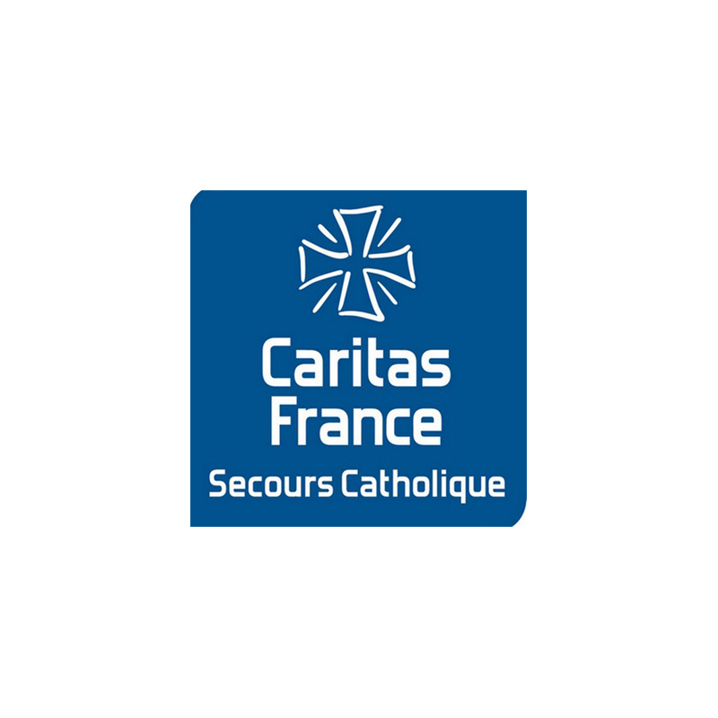 logo Secours catholique – Caritas France