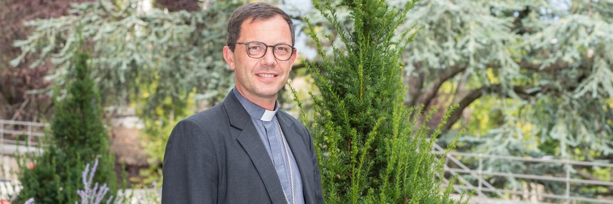 Portrait de Mgr Emmanuel Gobilliard, nouvel évêque auxiliaire de Lyon