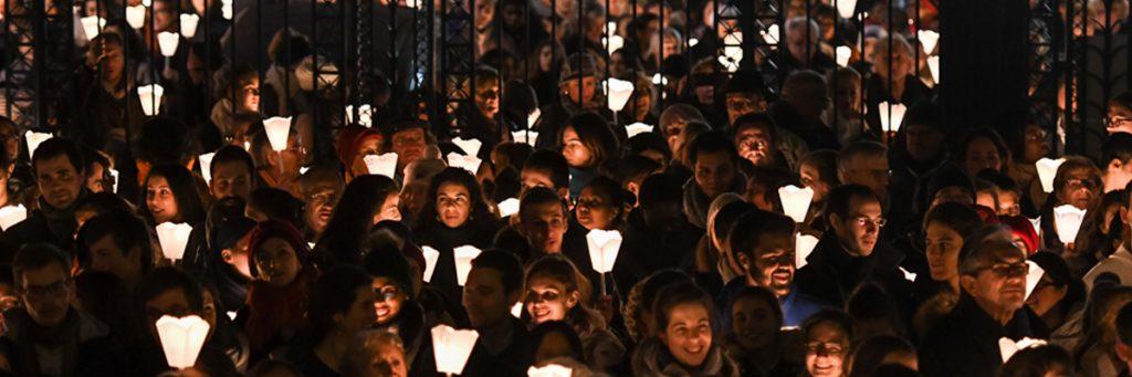 fête du 8 décembre à Lyon