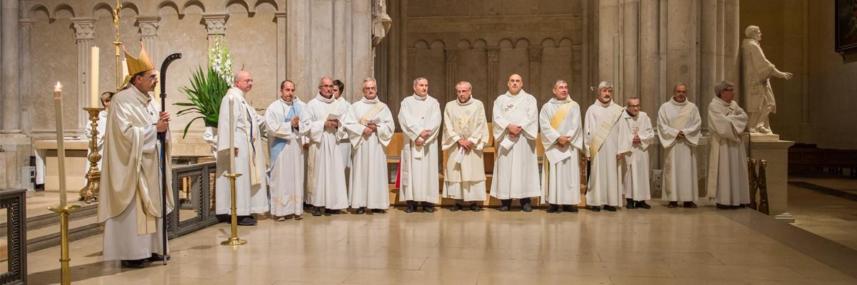 Les diacres dans le diocèse de Lyon