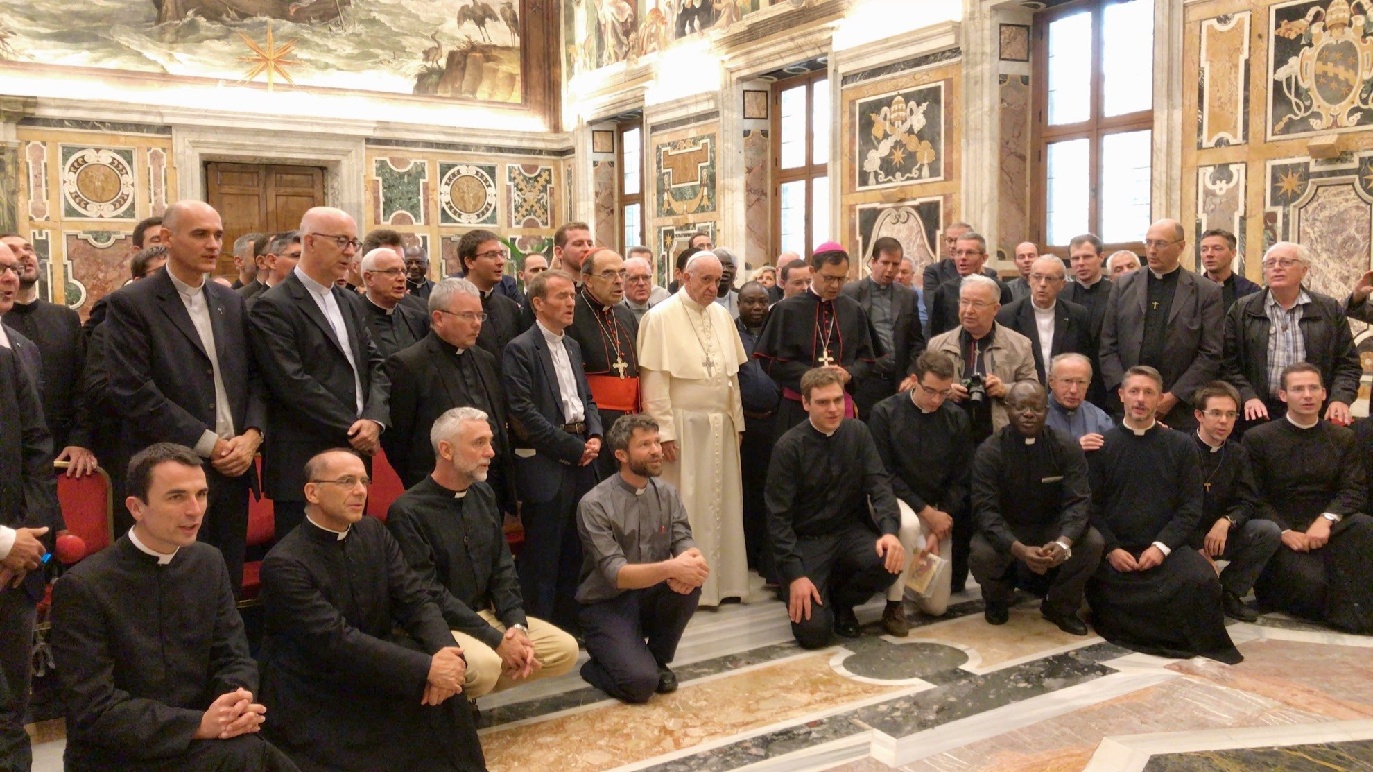 Voyage des prêtres à Rome