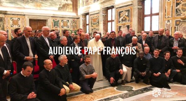 Audience avec le pape François