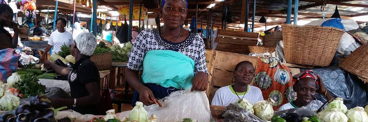 Incendie sur le marché central de Koupela