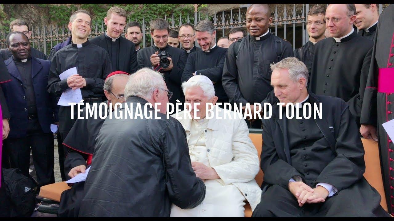 Témoignage du père Bernard Tolon