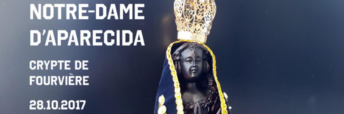 Vierge d'Aparecida à Fourvière