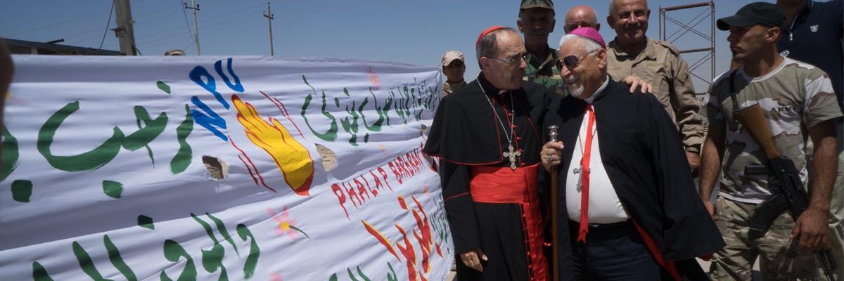 4ème voyage du cardinal Barbarin en Irak