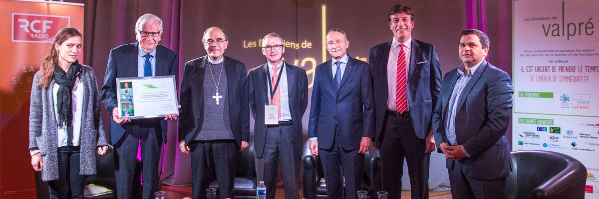 Entretiens de Valpré : L'ACLAAM récompensée