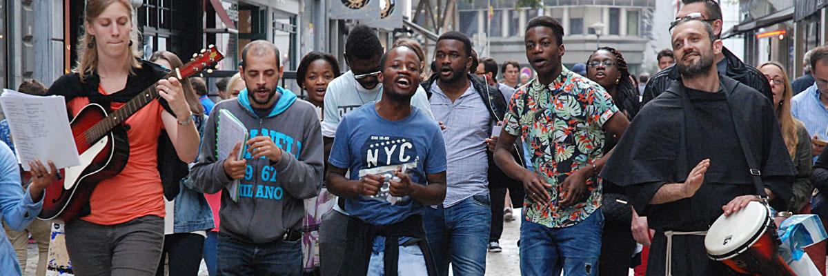 Fraternels dans la ville