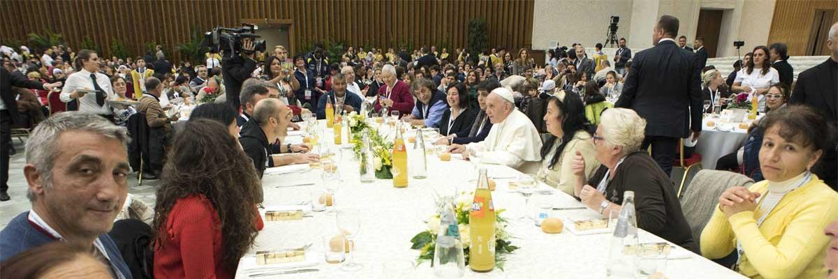 Homéliedu Pape François pour la Journée mondiale des pauvres