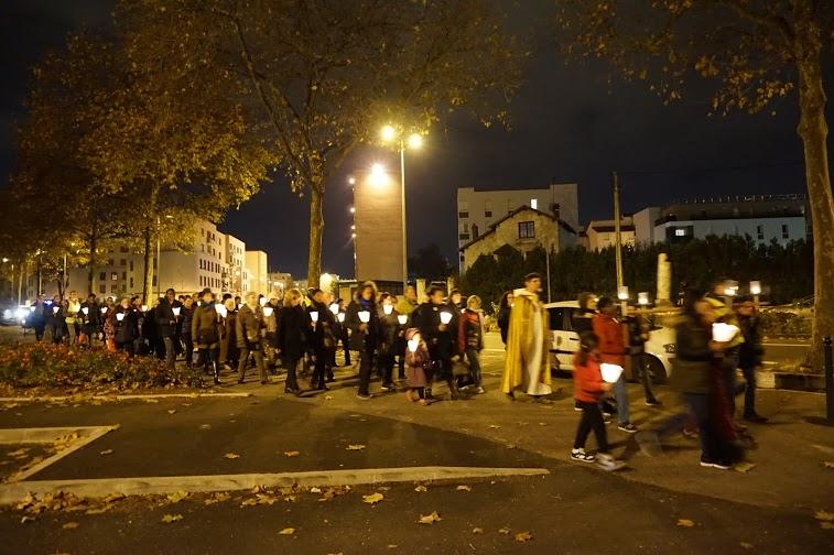 Procession mariale Lyon 8ème