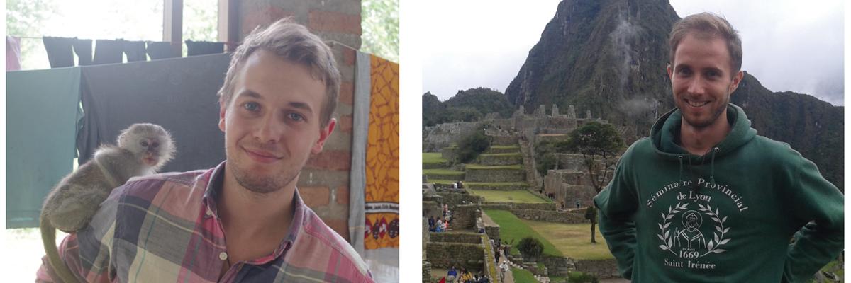 Deux séminaristes volontaires à l'étranger