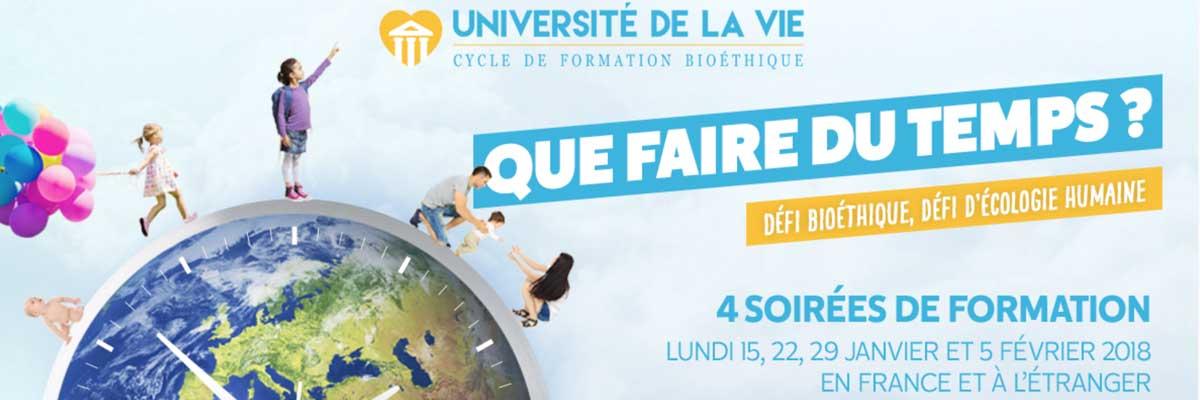 Université de la vie – Alliance VITA