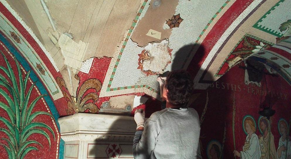 Visite – crypte des mosaïques de l'Antiquaille