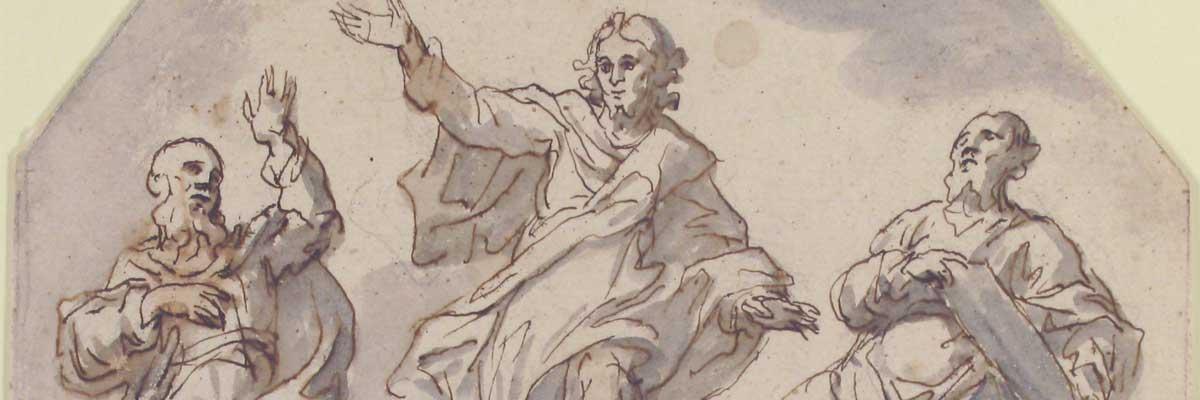 2e dimanche de carême (2018) avec l'oeuvre «Transfiguration» de F. Curia