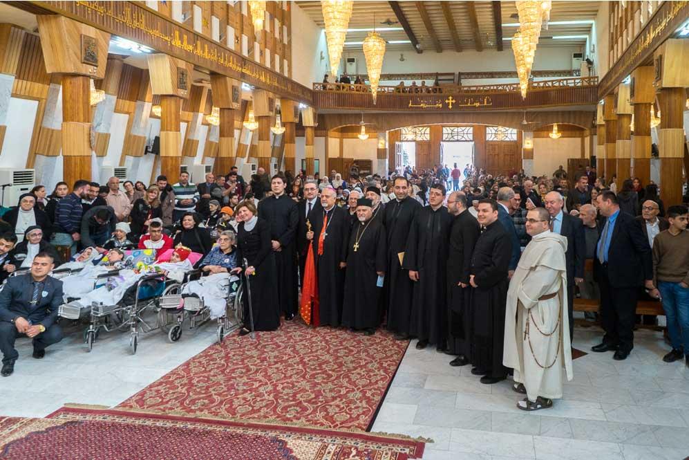 Journée mondiale du malade en Irak