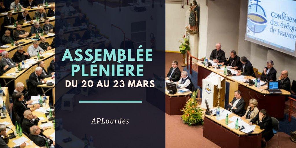 Ouverture de l'assemblée plénière – Lourdes 2018