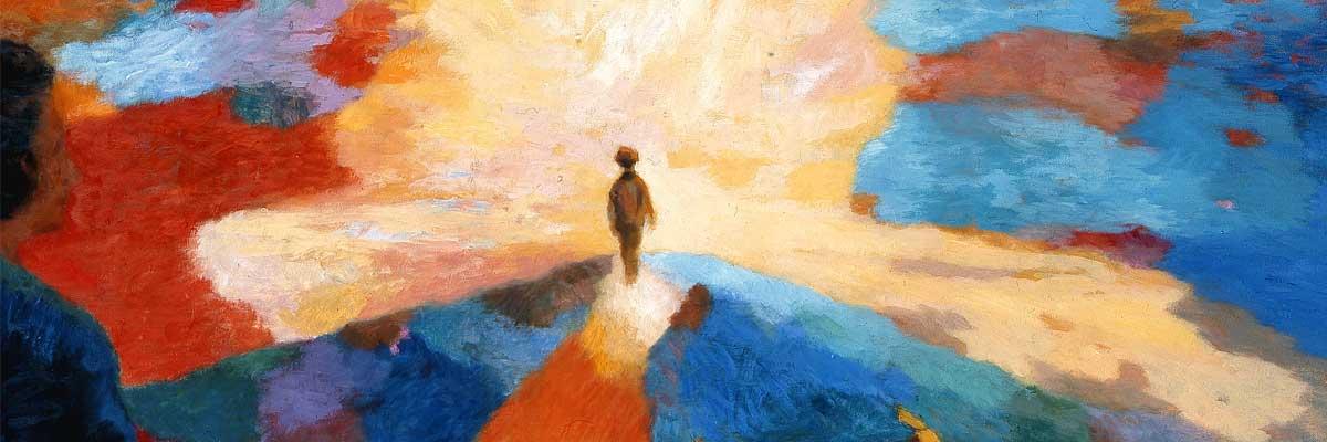 Dimanche de Pâques avec l'oeuvre « L'enfant et la vie »