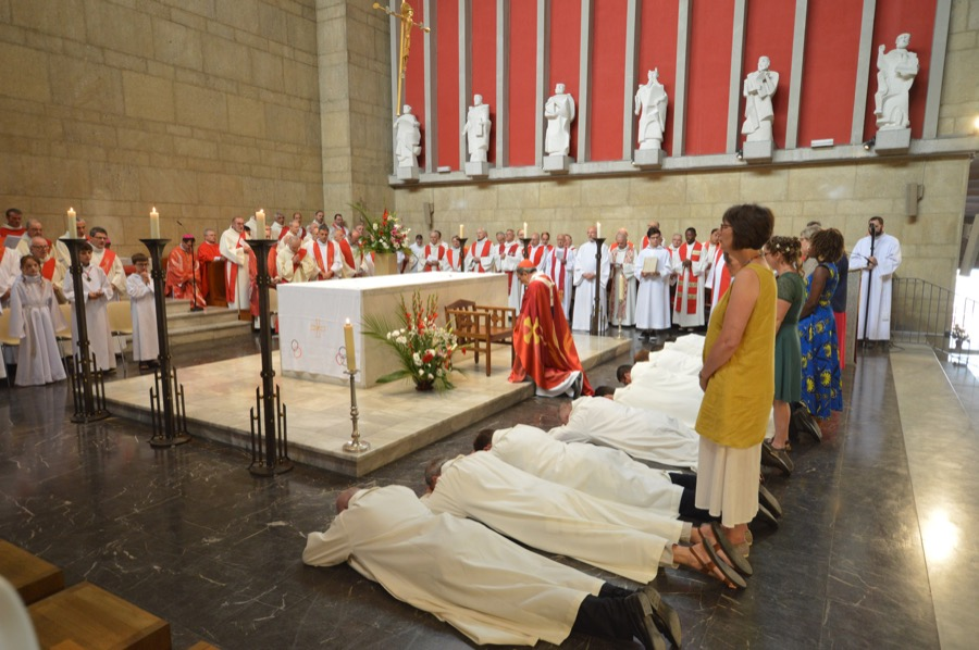 Ordinations diaconales 16 juin 2018