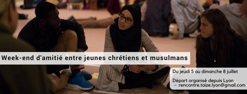 WE jeunes chrétiens et musulmans