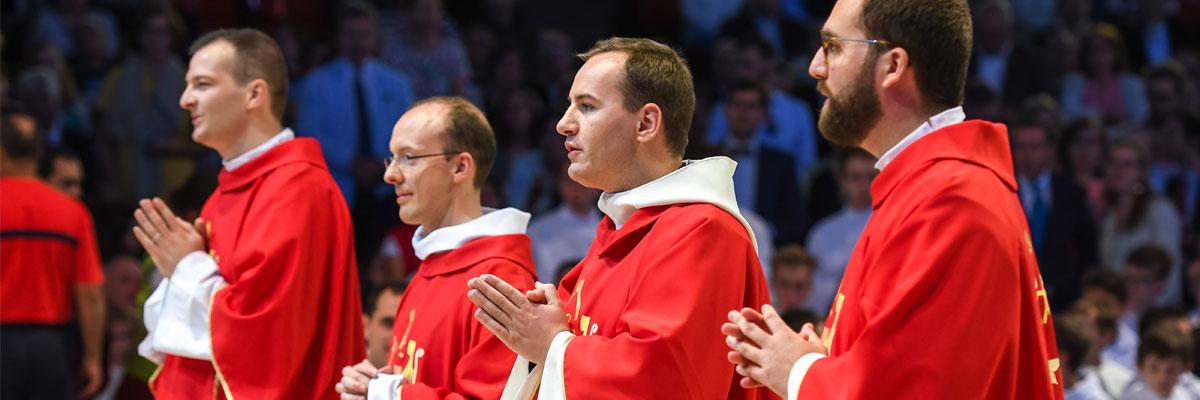 23 juin : 4 nouveaux diacres en vue du sacerdoce !
