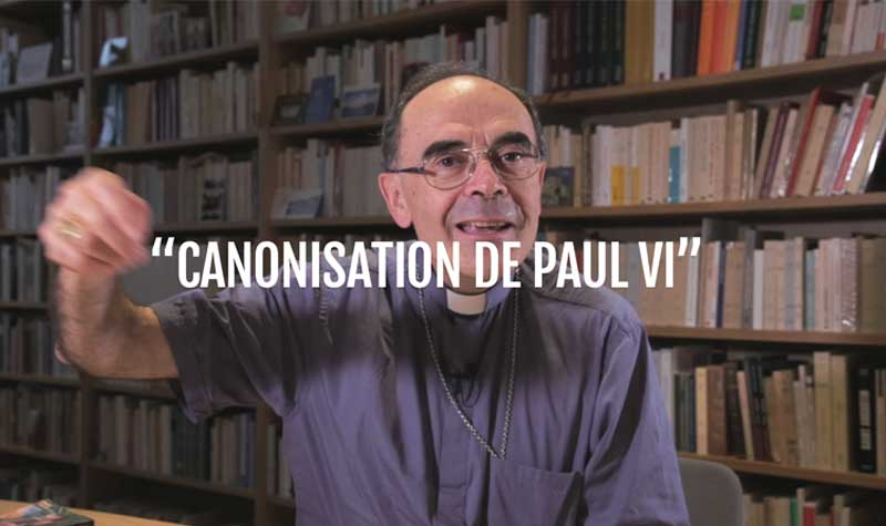 Canonisation de Paul VI