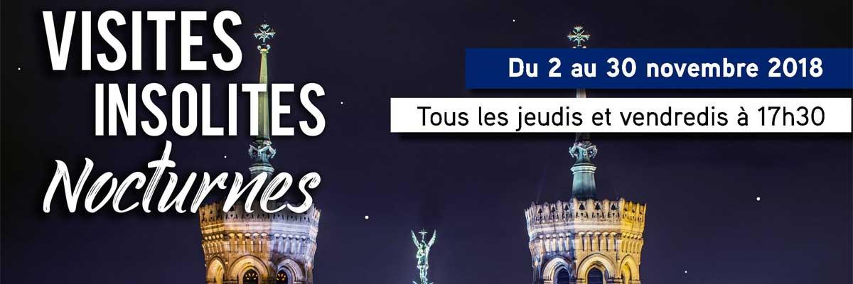 Visites insolites nocturnes Fourvière