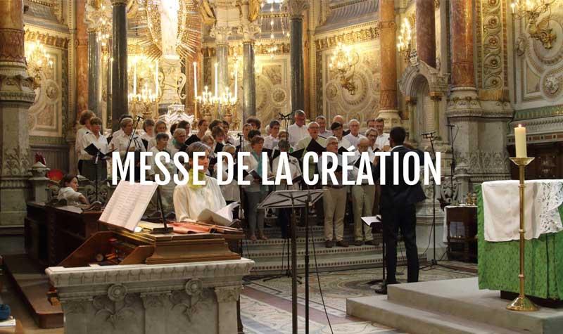 Messe de la création – 30 septembre 2018