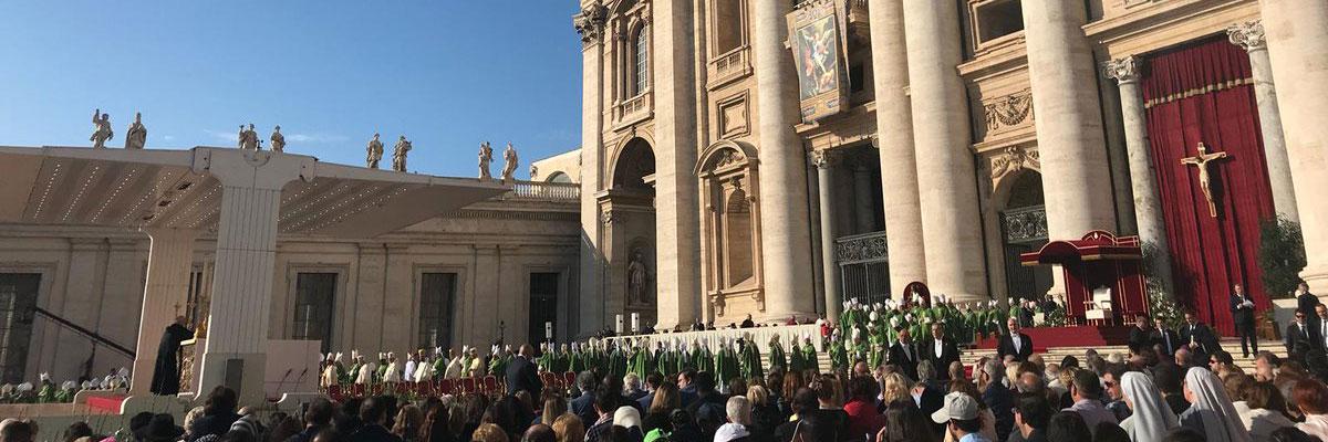 Homélie du Pape François, ouverture du Synode des évêques