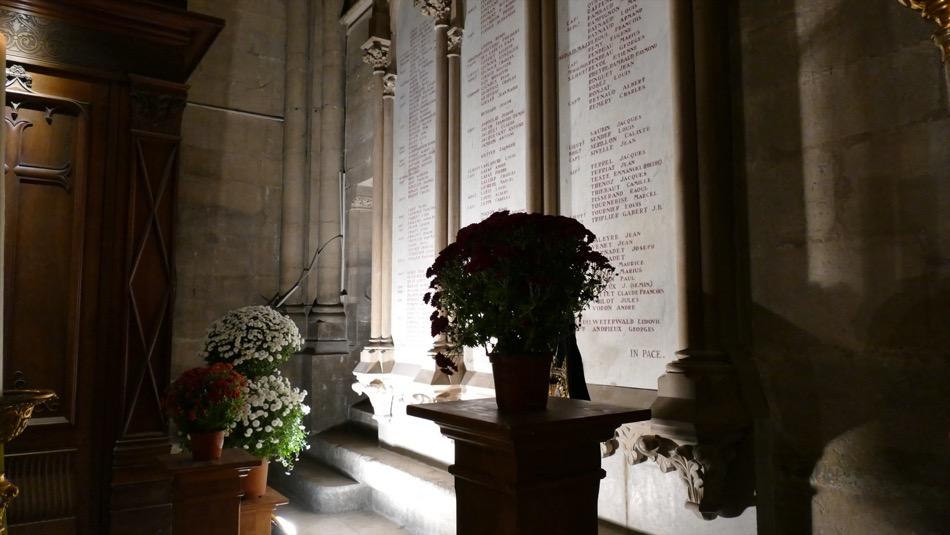 Vêpres - 100e anniversaire de l'armistice 1918