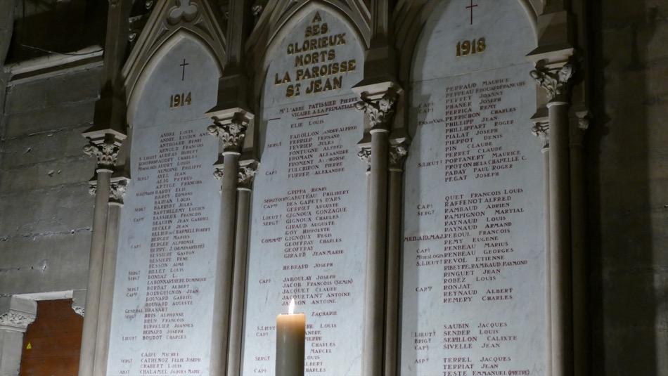 Vêpres – 100e anniversaire de l'armistice 1918