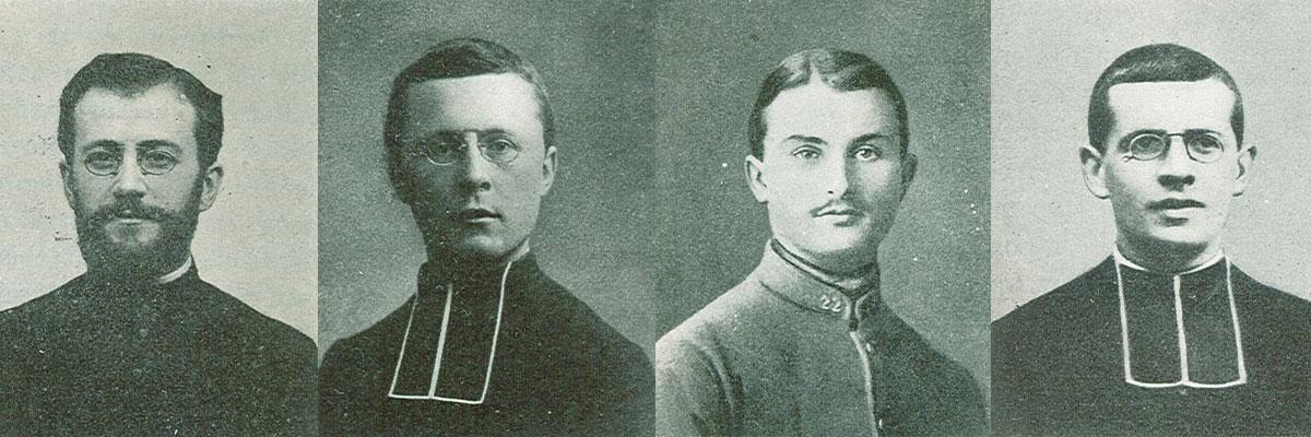 Témoignages de prêtres et séminaristes pendant la guerre 14-18