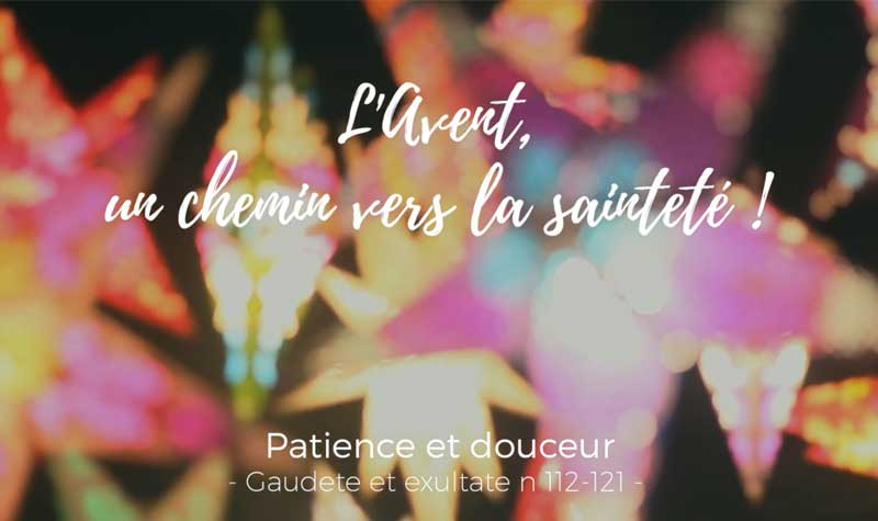 Avent : patience et douceur