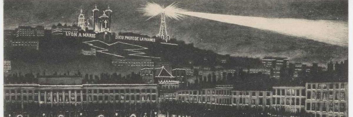 L'histoire du 8 décembre : naissance et tradition des illuminations à Lyon