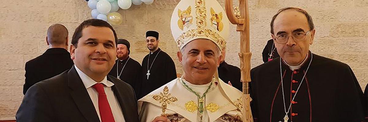 Jumelage Lyon-Mossoul : un nouvel évêque installé !