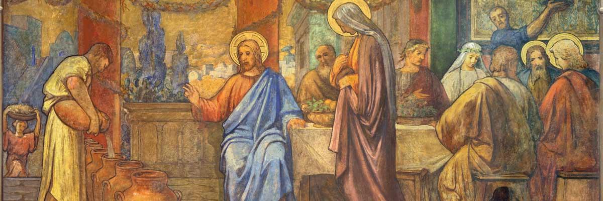 « Tel fut le commencement des signes que Jésus accomplit. C'était à Cana de Galilée »