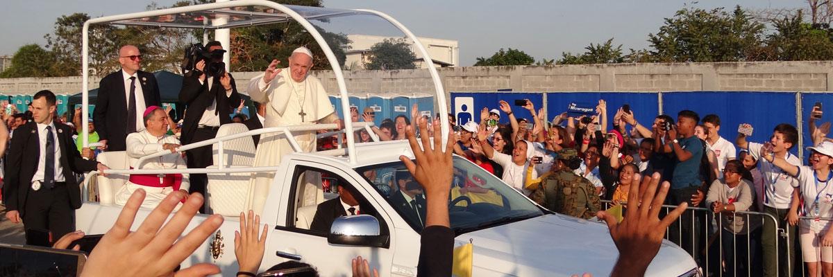 JMJ Panama : Homélie du pape François lors de la messe de clôture