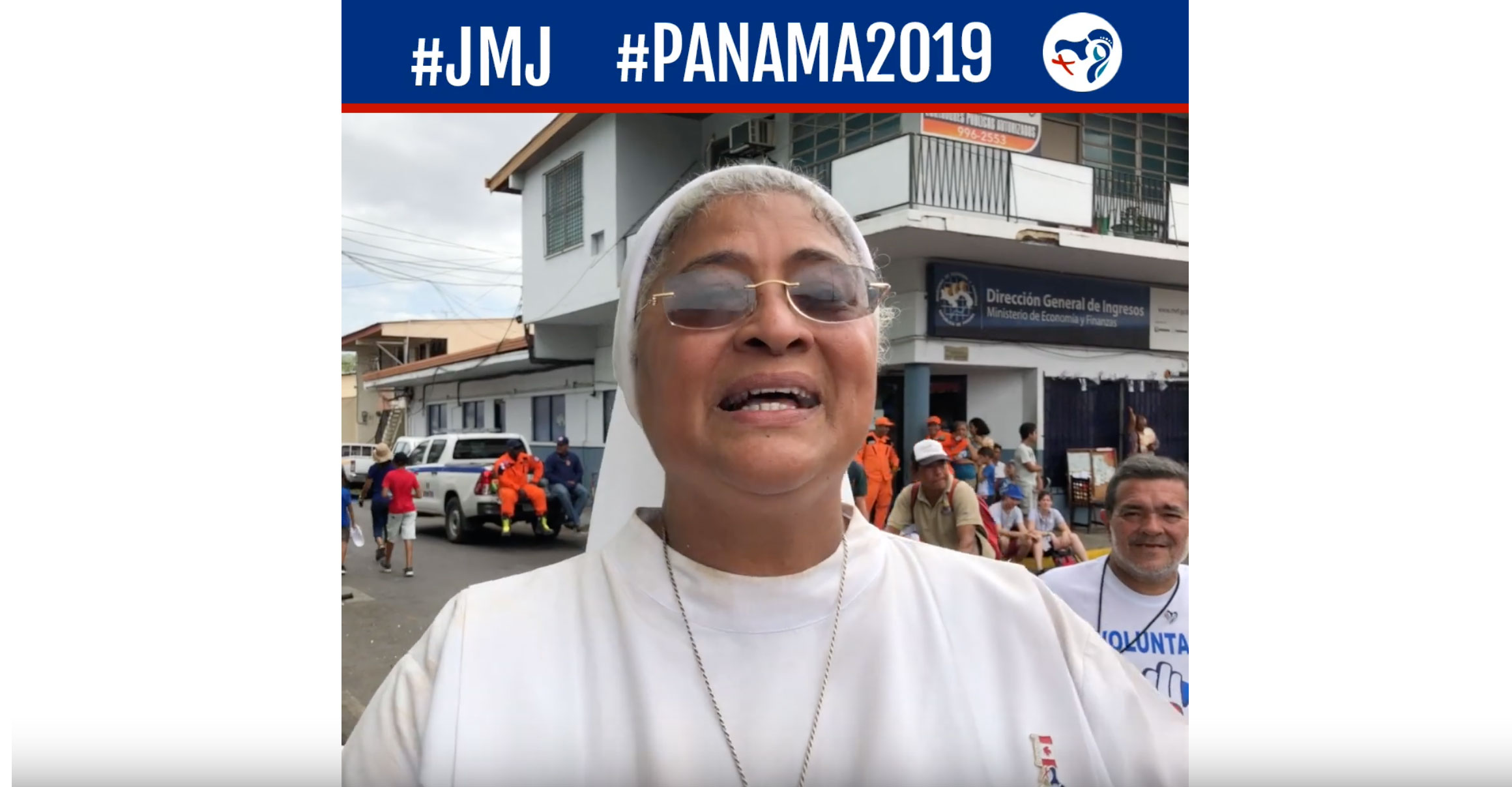 JMJ Panama – Interview de Soeur Esther