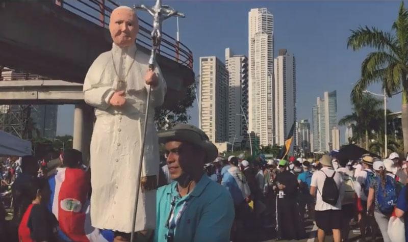 Fin des JMJ au Panama