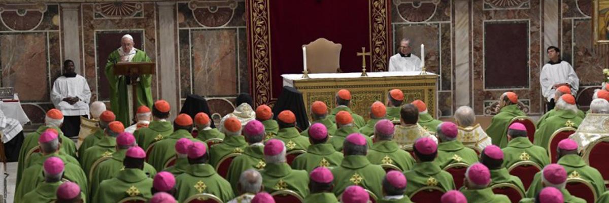 «La protection des mineurs dans l'Église» – Discours final du Pape