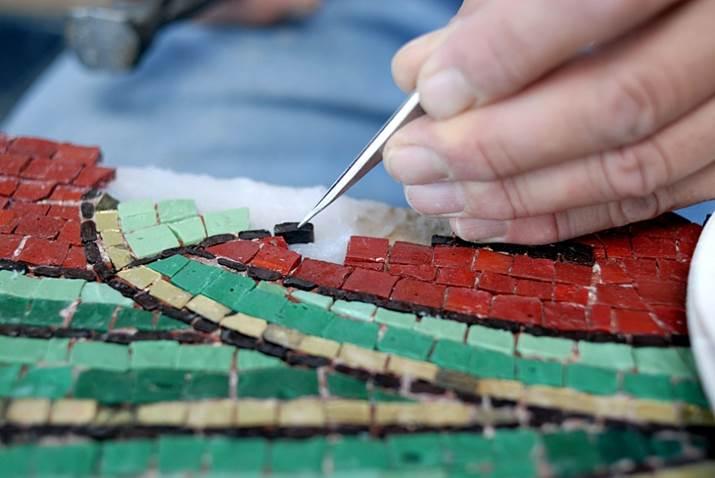 Atelier mosaïques pour les 8-12 ans