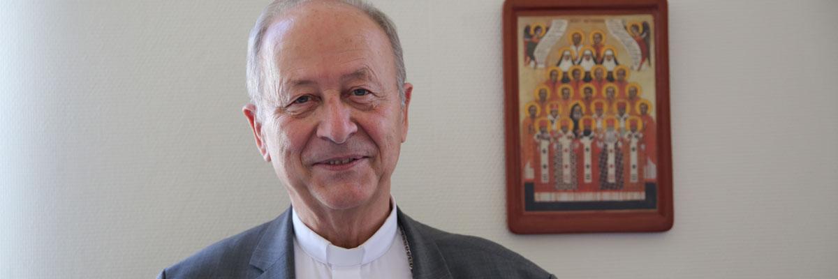 Le Saint-Père nomme Mgr Dubost administrateur apostolique du diocèse