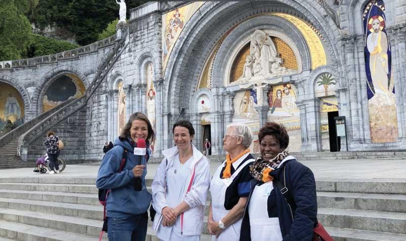 Témoignages de Bénédicte, Marie-Thérèse et Jacqueline – Lourdes 2019
