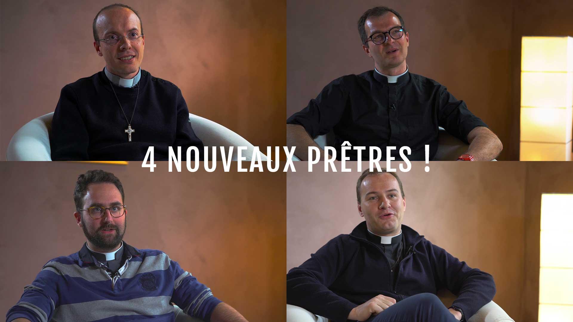 Quatre nouveaux prêtres le 29 juin 2019