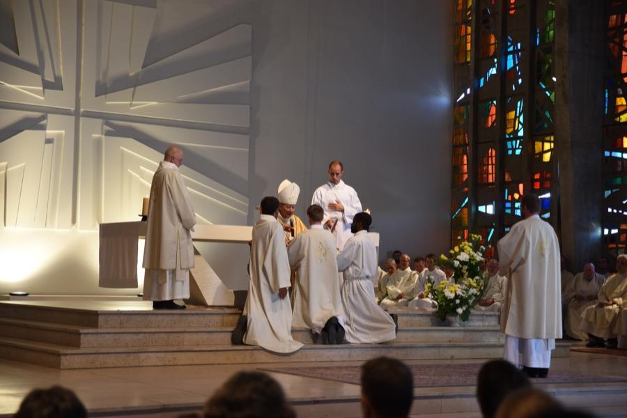 Ordinations diaconales sept 2019