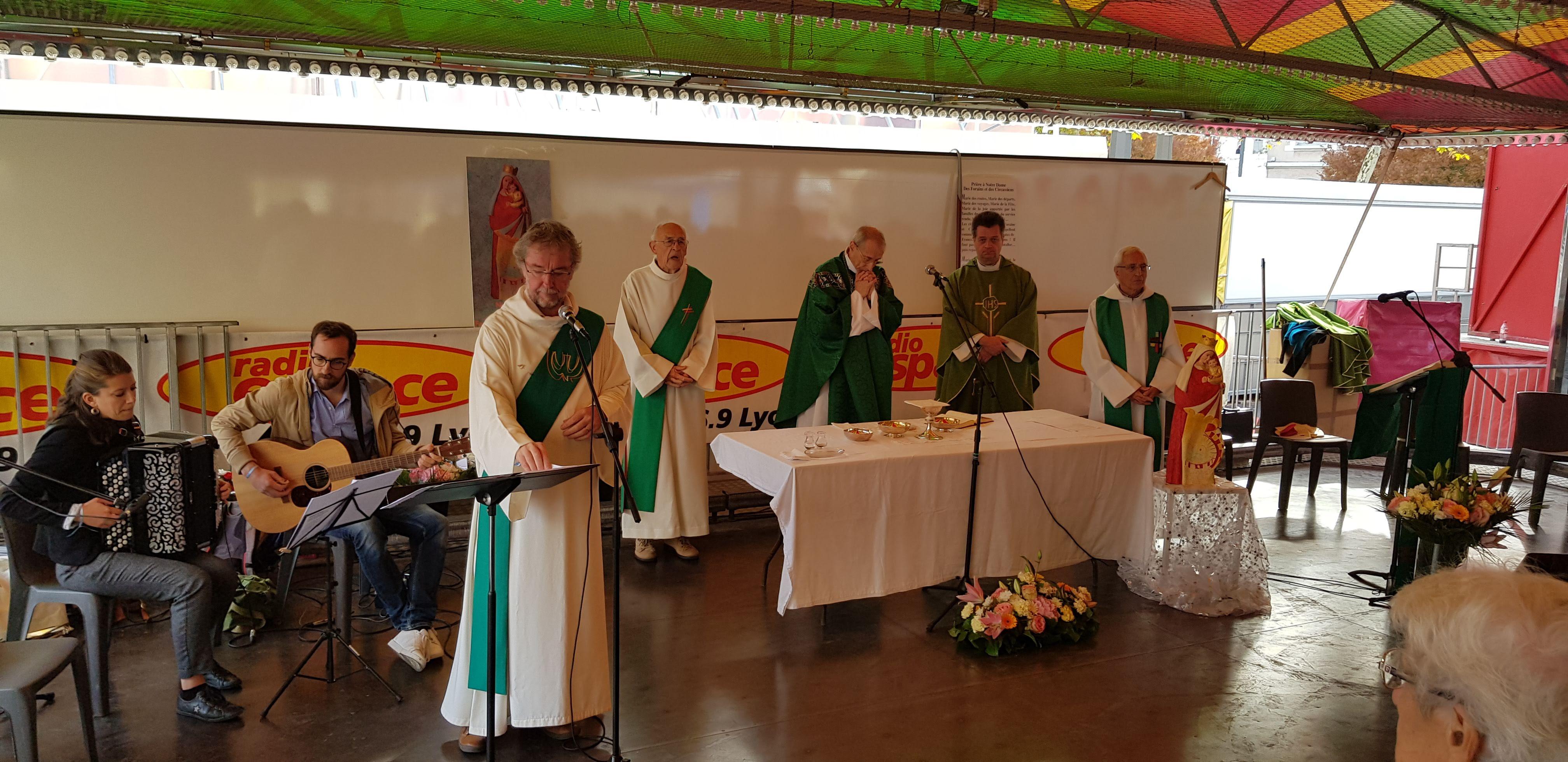 Messe de la Vogue de la Croix-Rousse