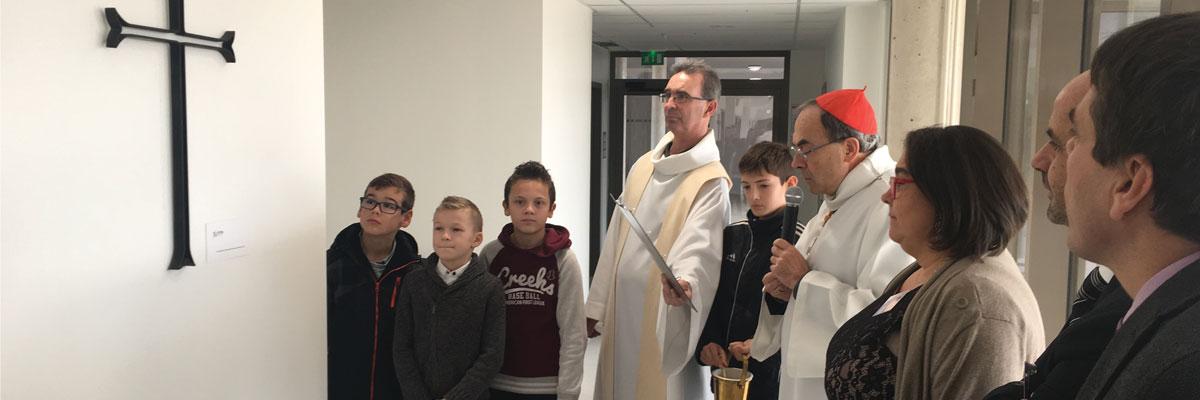 L'enseignement catholique inaugure un nouveau collège à Saint-Priest