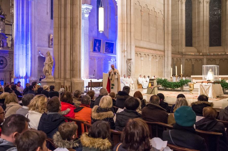 Procession et messe des jeunes 8 décembre 2019