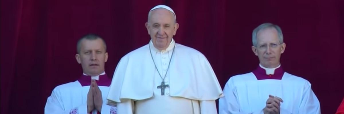 Bénédiction urbi & orbi – Pape François – Noël 2019