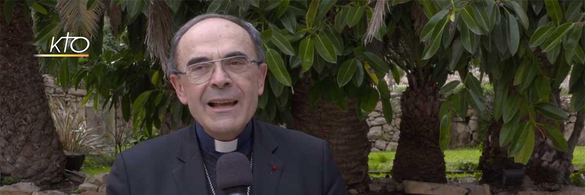 Message du cardinal Philippe Barbarin suite à la décision du pape François